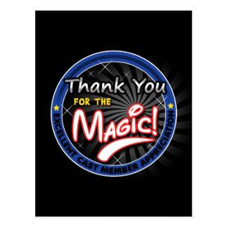 Thanks for the Magic - Cast Member Appreciation Post Card