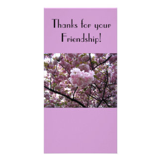 Thanks for your Friendship photo Card
