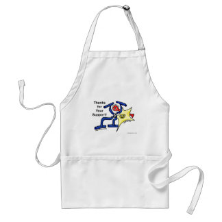 Thanks for Your Support Aprons