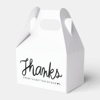Thanks gable box favor box party favour box