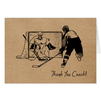 Thanks Hockey Coach! Card