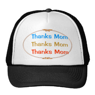 Thanks Mom : Mothers Day Trucker Hat