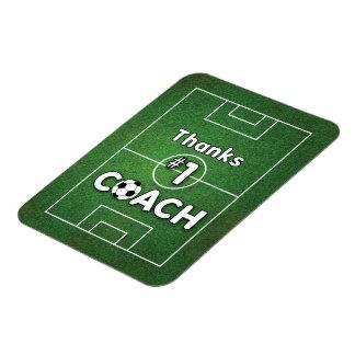 Thanks Soccer Coach Grass Field Magnet