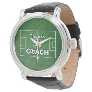 Thanks Soccer Coach Grass Field Watch