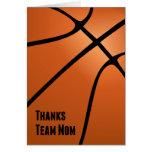Thanks Team Mum, Basketball, Helping the Team