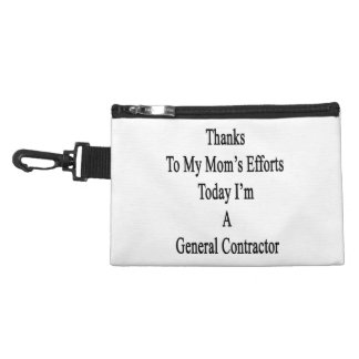 Thanks To My Mom's Efforts Today I'm A General Con Accessories Bags