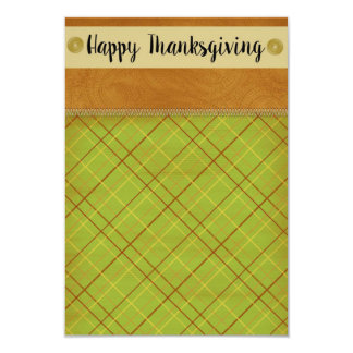Thanksgiving 9 Cm X 13 Cm Invitation Card