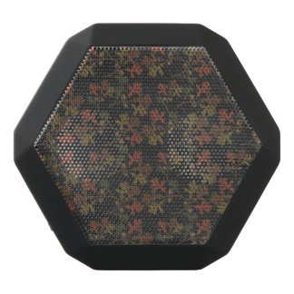 Thanksgiving Autumn Chalkboard Pattern Black Bluetooth Speaker