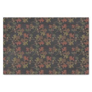 Thanksgiving Autumn Chalkboard Pattern Tissue Paper