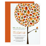 Thanksgiving Autumn Fall Leaves Pop Tree Invite