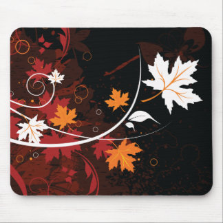 Thanksgiving autumn leaf-maple custom products mouse pad