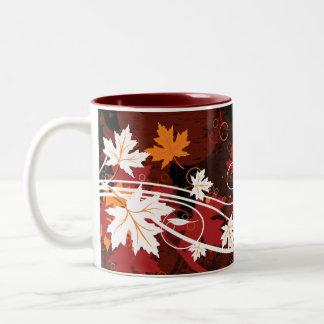 Thanksgiving autumn leaves-maple custom products mug