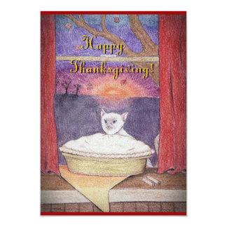 Thanksgiving Autumn Pleasures 13 Cm X 18 Cm Invitation Card