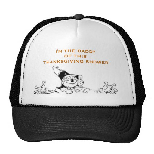 THANKSGIVING BABY SHOWER GIFT IDEAS MESH HATS