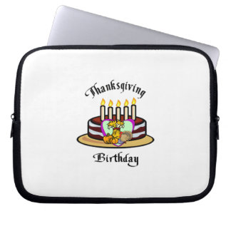 Thanksgiving Birthday Laptop Computer Sleeves