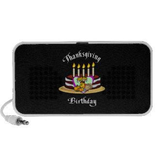 Thanksgiving Birthday Notebook Speaker