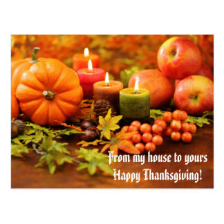 Thanksgiving Blessing Postcards