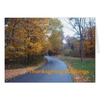 Thanksgiving Blessings Card