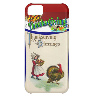 Thanksgiving blessings cover for iPhone 5C