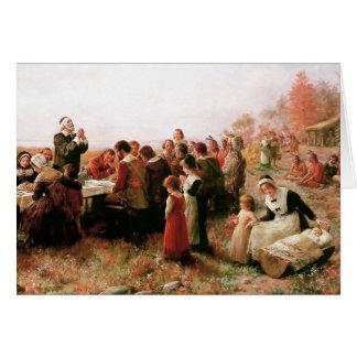 Thanksgiving Blessings. Customizable Fine Art Card