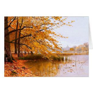 Thanksgiving Blessings. Fine Art Greeting Cards