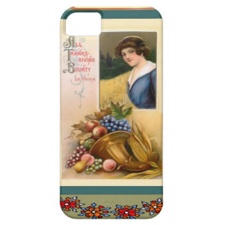 Thanksgiving bounty barely there iPhone 5 case