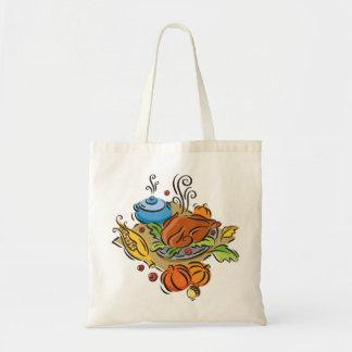 Thanksgiving Budget Tote Bag