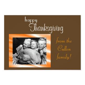 Thanksgiving Card 13 Cm X 18 Cm Invitation Card