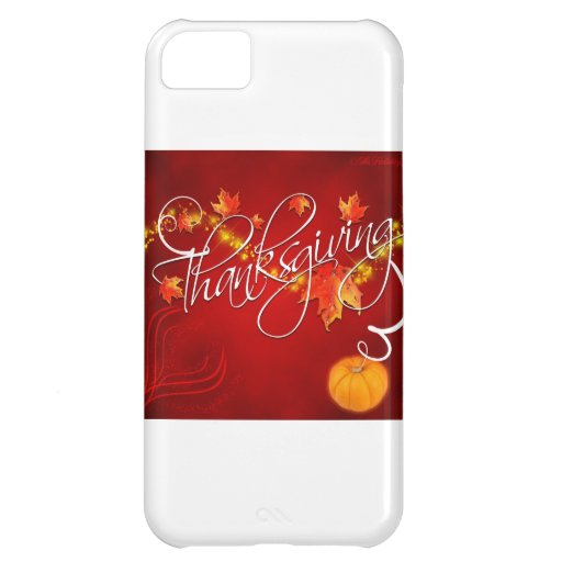 Thanksgiving Case For iPhone 5C