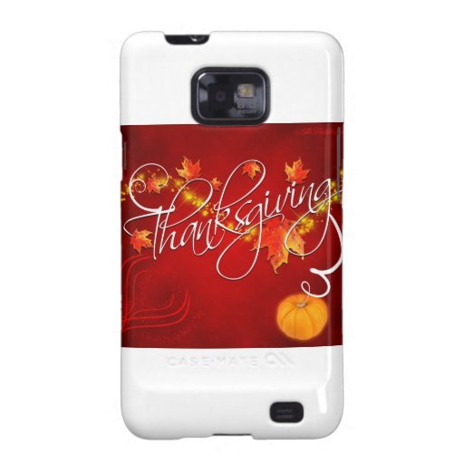Thanksgiving Galaxy S2 Case