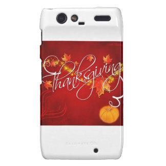 Thanksgiving Motorola Droid RAZR Covers
