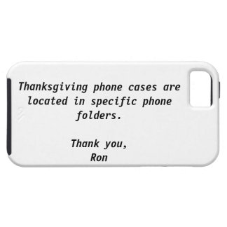 Thanksgiving Case-Mate Case iPhone 5 Covers