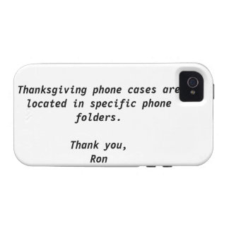 Thanksgiving Case-Mate Case Vibe iPhone 4 Cases
