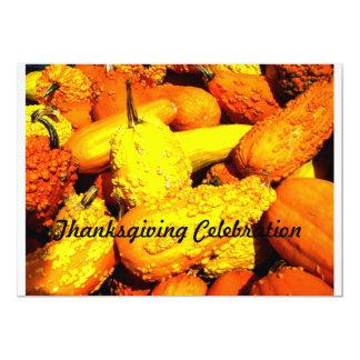 Thanksgiving Celebration Invitation