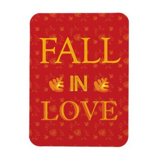 Thanksgiving Celebrations Fall in Love Rectangular Photo Magnet