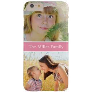 Thanksgiving Christmas Birthday Gift Family Photo Barely There iPhone 6 Plus Case
