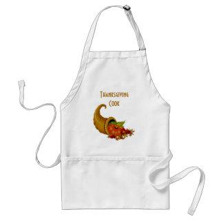 Thanksgiving Cook  Horn of Plenty Standard Apron
