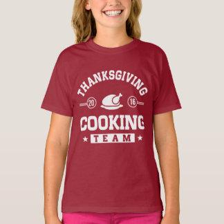 Thanksgiving Cooking Team 2016 T-Shirt