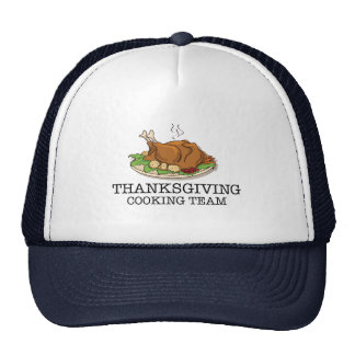 Thanksgiving Cooking Team Fried Turkey Mesh Hat