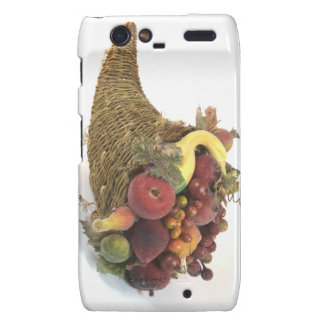 Thanksgiving Cornicopia Motorola Droid RAZR Cover