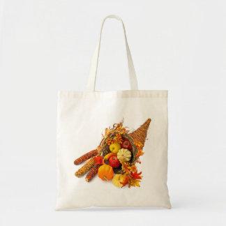 Thanksgiving Cornucopia Budget Tote Bag