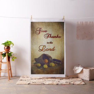 Thanksgiving Cornucopia Fabric