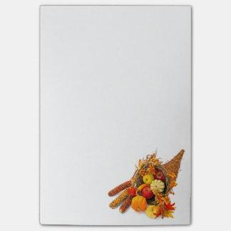 Thanksgiving Cornucopia Post-it® Notes