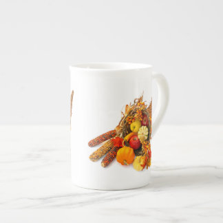 Thanksgiving Cornucopia Tea Cup