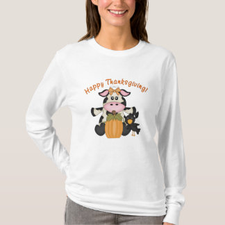 Thanksgiving Cow t-shirt