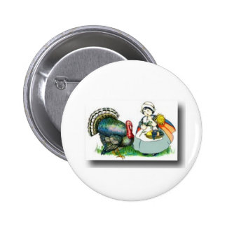 Thanksgiving day 3 pinback buttons