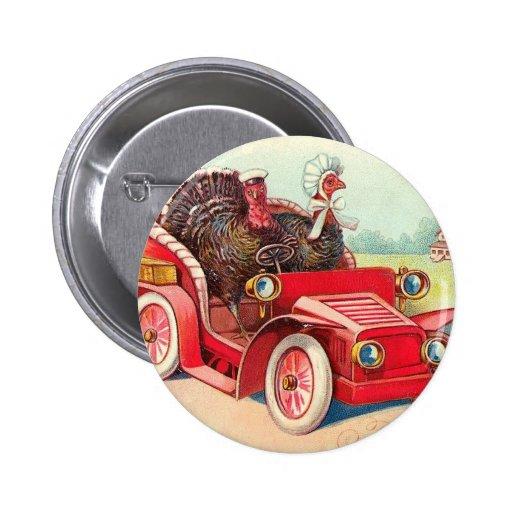 Thanksgiving Day Pinback Button