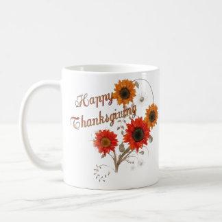 Thanksgiving Day Basic White Mug