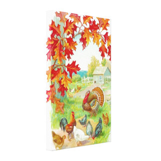 Thanksgiving Day Canvas Print