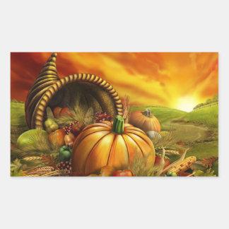Thanksgiving Day Gourd Sticker